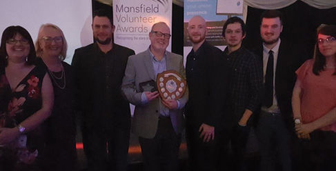 SF Media Sponsor Mansfield Volunteer Awards 2017